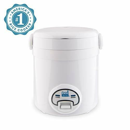 Aroma Housewares Mi 3-Cup Cooked 1.5-Cup UNCOOKED Digital Cool Touch Mini Rice