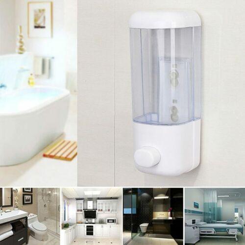 GENNYUE Manual Pressing Single Head Wall Mounted Soap Dispenser Wall Hanging Soap Dispenser 500ML