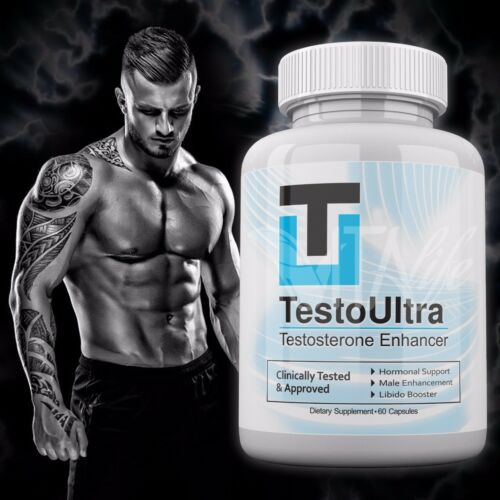 Buy Testo Ultra Testosterone Booster Enhance 60 Capsules Testoultra Testosterona Online in India