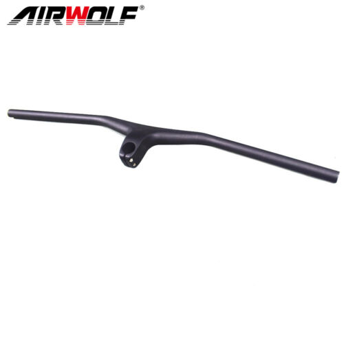 Tideace HB-021 Flat Handlebar Mountain Bike 3K 28.6mm Diameter Bike Bar MTB Bike