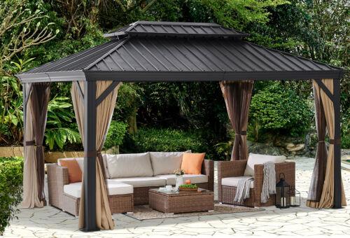 14 X10 Outdoor Patio Canopy Party, Outdoor Canopy Gazebo