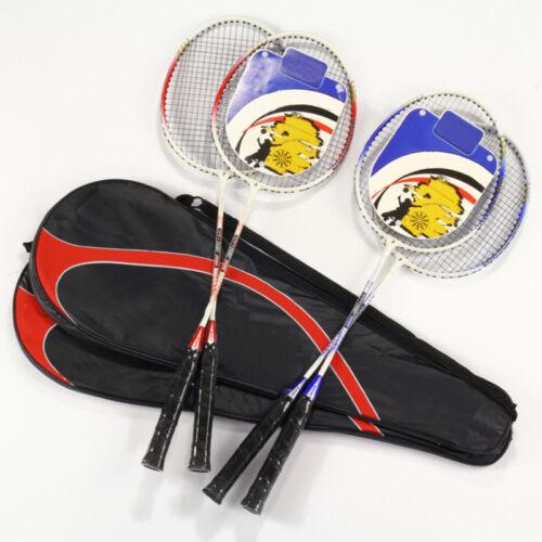 Economic Fad high-strength AluminiumBadminton Rackets Set Badminton Rackets T CO