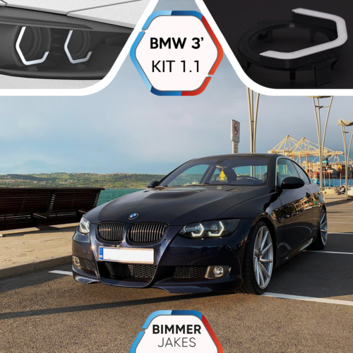 2016 Right Passenger Side 2018 2017 BimmerJakes 4 Series F32 Coupe // F33 Convertible // F36 Grand Coupe // M3 F80 // M4 F82 2013 2015 2014 Headlight Lens Plastic Covers