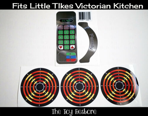 Buy New Replacement Decals Stickers Fits Little Tikes Victorian Kitchen Stainless St Online In India 331969695041