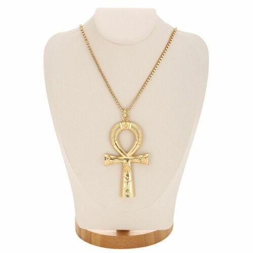 Details about  / American diamond eye of Horus Cross Pendant full of diamond hip-hop Necklace