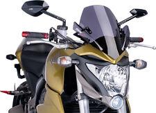 Puig Racing Windscreen Dark Smoke #6479F Honda CBR500R//CBR500R ABS 2013-2015