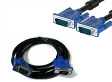10 FT 10FT 15 PIN VGA Monitor M//M Male To Male Cable CORD FOR PC TV