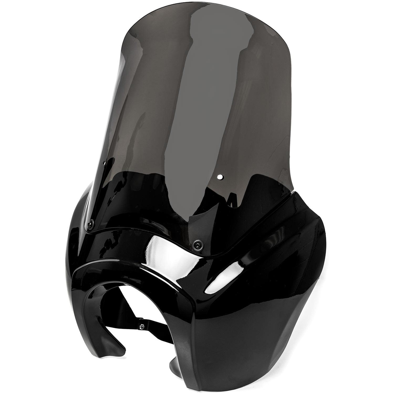 Krator Black Seat Bolt Screw Knurled Seat Cover Bolt for Harley Davidson Deuce FXSTD