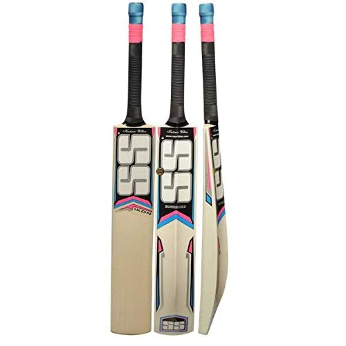 Exclusive Cricket Bat for Adult Full Size with Full Protection Cover SS Kashmir Willow Leather Ball Cricket Bat by Yogi Sports /… Super Power, Cannon, Impact
