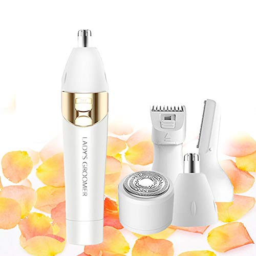 Facial Hair Removal For Women Devices Bikini Nose Hair Trimmer For