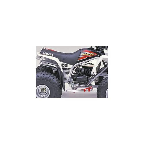 1988-2006 DG Performance 67-4310 for Yamaha Banshee 350 Baja Series Skid Plate Aluminum