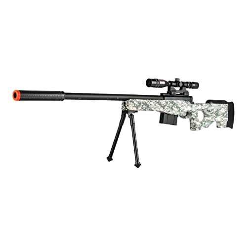 300 Fps L96 Airsoft Gun Sniper Spring Powered Rifle Gun With Scope Digital Camo Buy Products Online With Ubuy India In Affordable Prices B075msnjxz