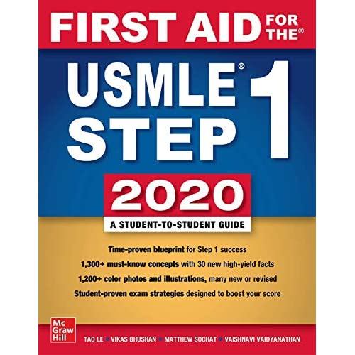 First Aid for the USMLE Step 1 2020, Thirtieth edition 30th Edition