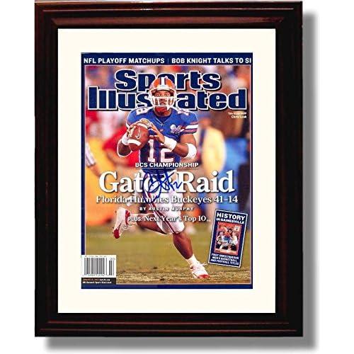 Chris Leak 2006 Florida Gators Sports Illustrated Championship Autograph Replica Poster
