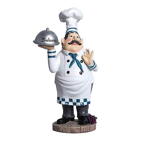 Buy Sleeri Chef Figurine Kitchen Decoration Cooking Chef Figurine Counter Topresin Chef Figurine Chef Statue Collectible Figurine Kitchen Chef Figurines For Counter Top Restaurant Online In India B07xv99p1h