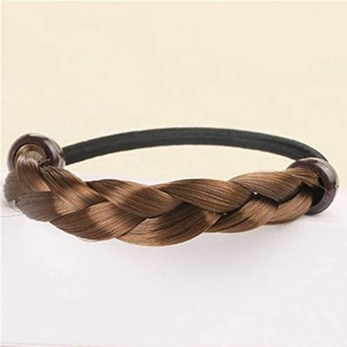 Details about  /Ponytail Holder Elastic Hair Rope Hair Rubber Band Wig Braided Headband