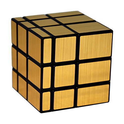Likiq Shengshou 3 X 3 Gold Mirror Cube Puzzle Buy Products Online With Ubuy India In Affordable Prices B071xyf12x