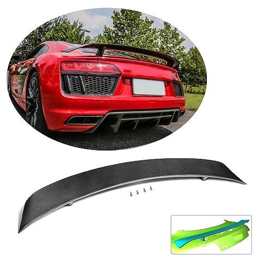 MCARCAR KIT Side Skirts fits Audi R8 V8 V10 GT Spyder Coupe Convertible 2007-2015 Add-on Carbon Fiber CF Under Door Rocker Panels Valance Extension Lip