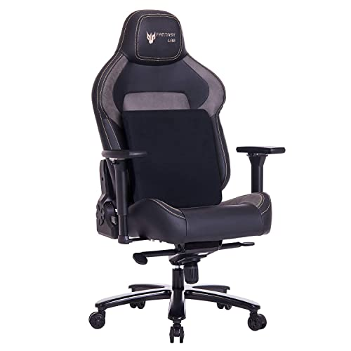 Buy Fantasylab Big And Tall 440lb Metal Base Gaming Chair Memory Foam Lumbar Seat Cushion 4d Adjustable Arms Swivels Reclines Ergonomic High Back Racing Computer Desk Office Chair Online In India B088r79zyt
