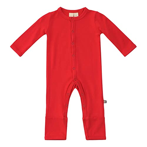 KYTE BABY Unisex Soft Bamboo Rayon Rompers 0-24 Months Snap Closure
