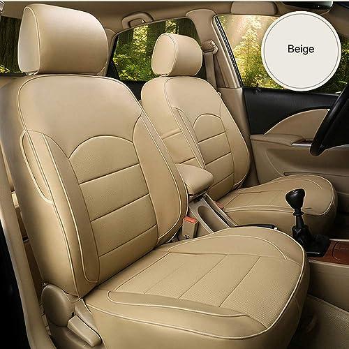 Autodecorun 25pcset Genuine Leather, Cowhide Car Seat