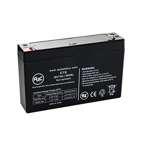 18 Pack EVLL1150R-1U UPS 6V 7Ah Replacement Battery Eaton Evolution 1150 VA Rackmount 1U SPS Brand