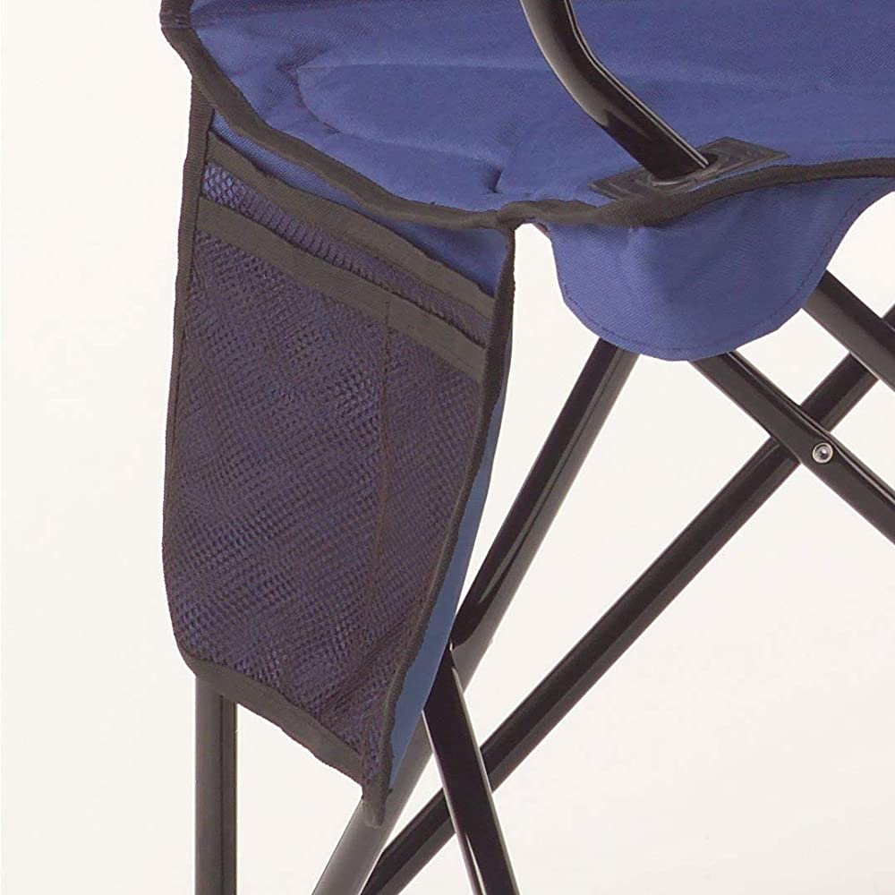 Buy Coleman Oversized Quad Chair With Cooler Pouch Blue