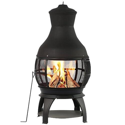 Chimenea Outdoor Fireplace Cast Iron Fireplace Fire Pit Antique
