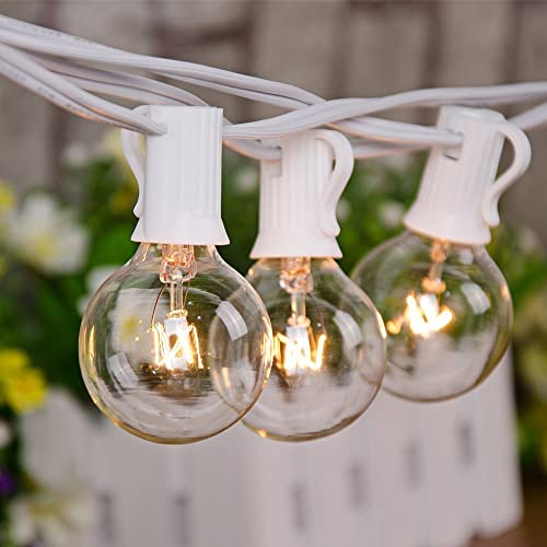 Outdoor Patio String Lights, Clear Patio String Lights