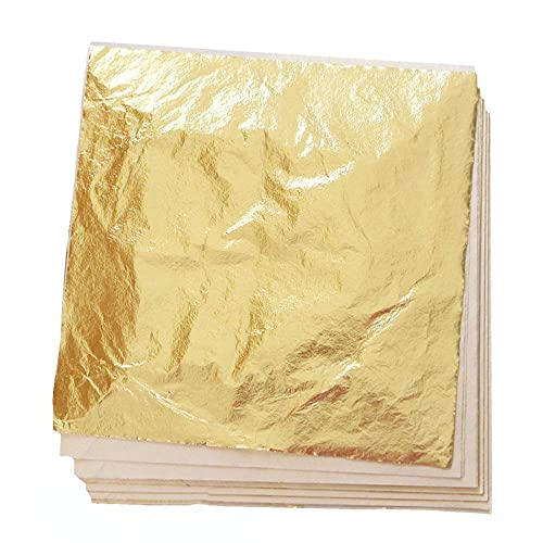 Art /& Craft for Food Edible Cake Decorations LumenGold 24K Edible Gold Leaf in 25 Sheets per Booklet 3.15x3.15 inches Wines and More 8x8 cm Gilding Spa Desserts