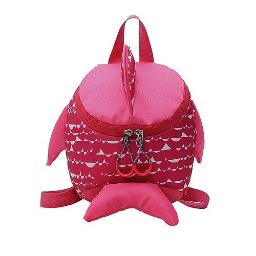 Cinhent Backpacks Baby Girls Boys Kids Cartoon Dots Large-Capacity School Bag