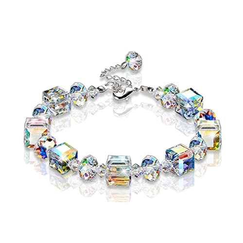 Buy KesaPlan Crystal Bracelet A Little Romance Stretch