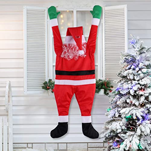 Buy Laossc Hanging Santa Claus Christmas Decorations Suitable For Gutters Christmas Decor Props On The Roof Online In India B07zqybhbf