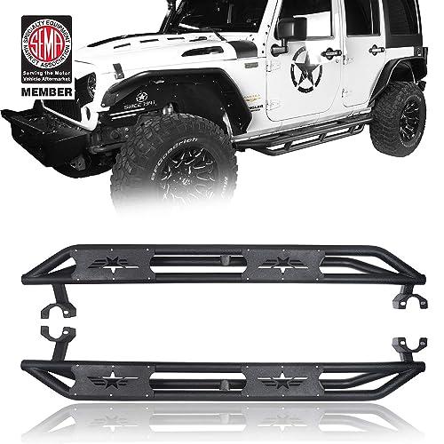 u-Box Jeep Wrangler JK Left Side A-Pillar 4-Switch Pod Jeep Wrangler JK 2011-2018