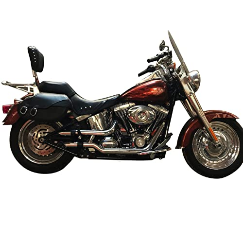 Radiant Cycles Shorty GP Exhaust for 2003-2009 Suzuki SV650 SV650S Chrome