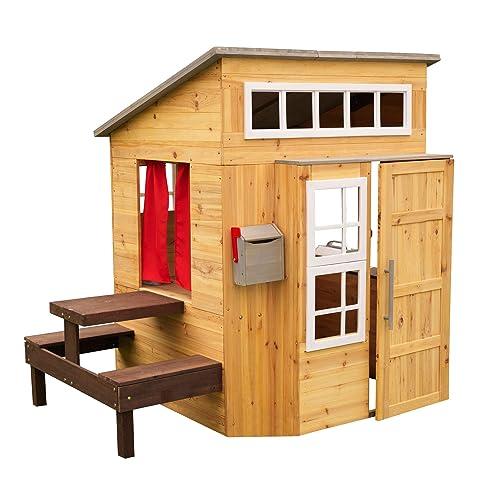 Kidkraft 182 Wooden Outdoor Garden, Kids Outdoor Playhouse Accessories