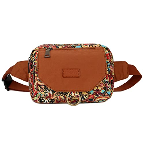 HS, Dual Shoulder BAOSHA Womens Colorful Sling Bag Crossbody Backpack Shoulder Casual Daypack Outdoor Travel Hiking XB-10