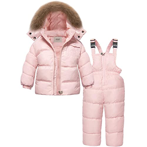 Newest Children Girls Clothing Sets Winter Hooded Duck Down Jacket SANMIO Girls Winter Snowsuit Trousers Snowsuit Warm Clothes