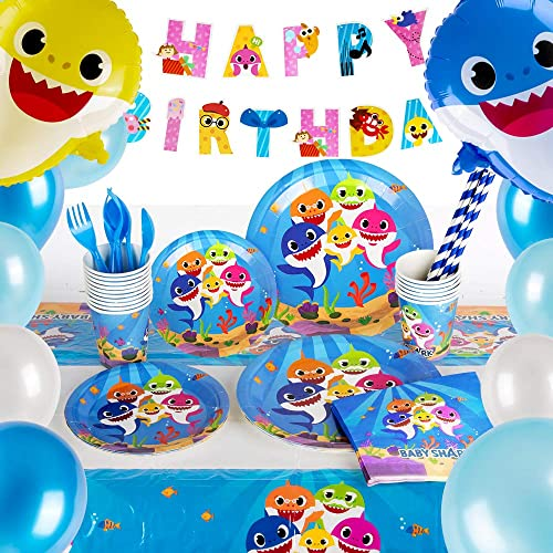 Know Me Baby Shark Birthday Party Decorations Hanging Swirl Baby Shark Party Supplies Under The Sea Decorations Amazon Ae Office Products