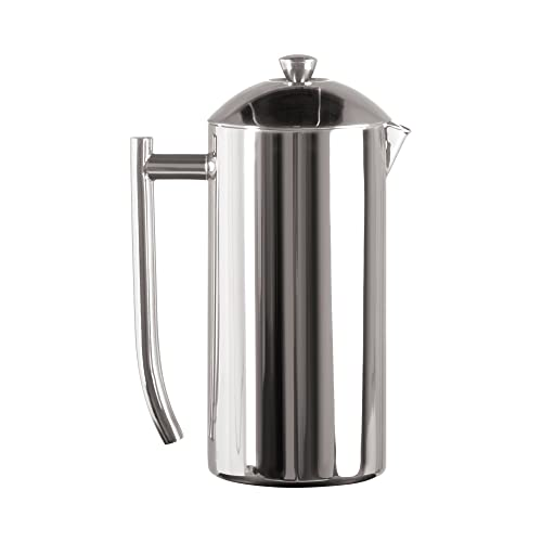 French Press Coffee Maker 1 L Black /… Vacuum Insulated Stainless Steel