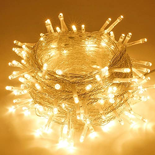 2021 New Christmas Outdoor Lights Buy Extra Long 82ft String Lights Outdoor Indoor 200 Led Upgraded Super Bright Christmas Lights Waterproof 8 Modes Plug In Fairy Lights For Bedroom Party Wedding Garden Warm White Online In India B07xc4pdqz