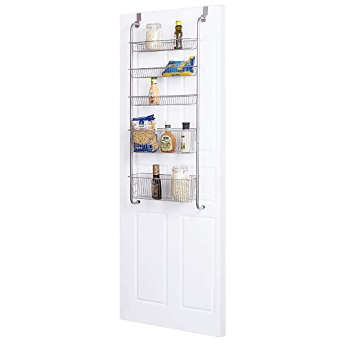 Frigidaire Over The Door Organizer For Kitchen Bathroom Pantry Door Storage Buy Products Online With Ubuy India In Affordable Prices B07rp35vlt