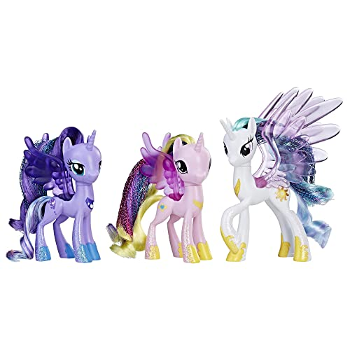 My Little Pony Princess Celestia Luna And Cadance 3 Pack 3 Inch Glitter Unicorn Toys With Wings From The Movie Buy Products Online With Ubuy India In Affordable Prices B07fqg1dk4