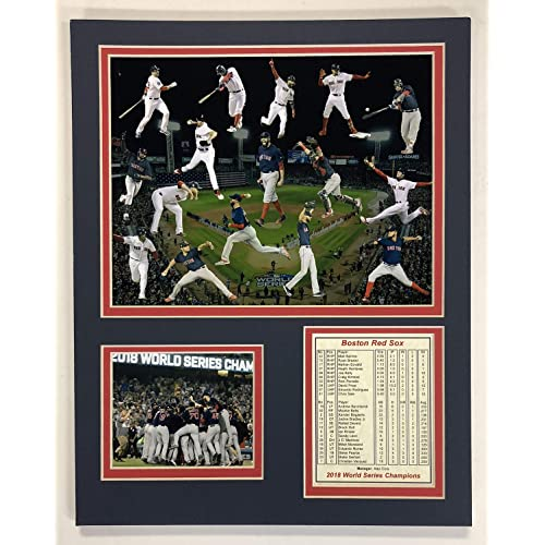 Stanley Cup Champions Celebration Legends Never Die 2017-2018 Washington Capitals 11x14 Unframed Matted Photo Collage