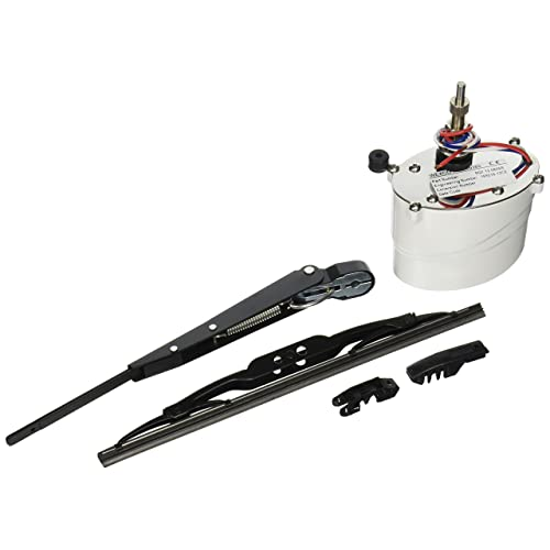 110 Degree Sweep Qarmar 12 Volt Electric Windshield Wiper Motor Kit Fits UTV Polaris RZR Ranger 900 1000 Hard Coated Or Glass Windshields Multiple Wiper Sizes