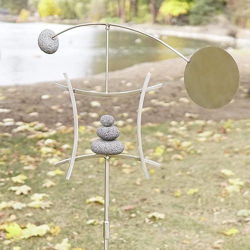 Aura Life Zen Garden Spinner, Zen Garden Sculptures