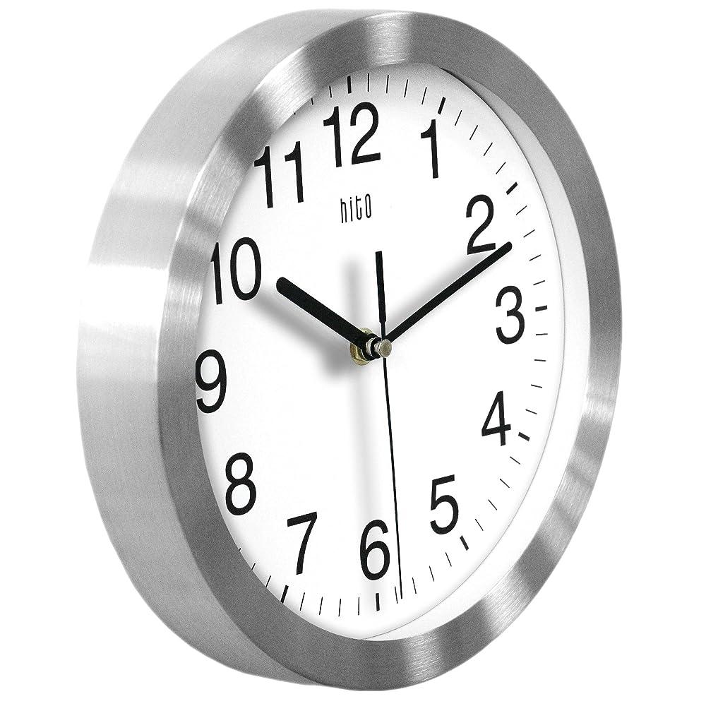 Buy Hito Modern Silent Wall Clock Non Ticking 10 Inch