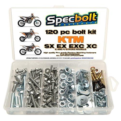 Specbolt Fasteners Full Body /& Plastics Suzuki Bolt Kit RM 125//250 2001-2008 #31