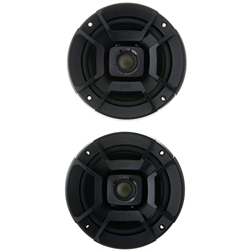 """Buy Polk Audio DB522 DB Series 5.25"""" Coaxial Speakers with Marine Certification, Black Online in India. B01EZWFNKA"""