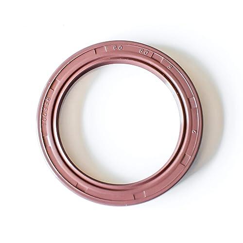 EAI Double Lip w// Spring Oil Seal 50X80X10 Viton TC Viton Coated Metal Case